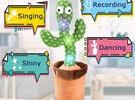 Dancing ..Singing .. Recording Cactus