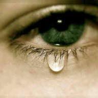 دمعة حزن