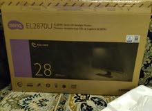 """شاشة BENQ EL2870U 28"""" 4K HDR"""