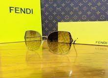 نظارة FENDI مطبع مع علاكة وعلبة ماركة