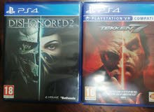 tekken 7 and dishonored 2 ps4