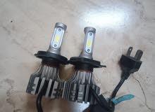 Genuine Tobey brand LED H4 type headlight bulb for sale  Headlights white LED