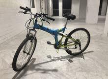 دراجة ماركة upten تبديل سرعات قابل للطوي نظيفة جدا استعمال 6 اشهر فقط