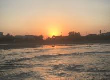 ارض شاليه على البحر مباشر او فندق