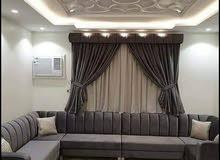 we are making new majlis,sofa, curtain.recovering and repairing old sof, majl.