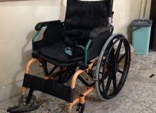 كرسي متحرك نوعيه فاخره مستعمل خالي من العيوب