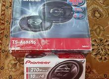 سماعات pioneer 210w و pioneer 400w