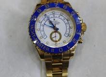 ساعة روليكس مطلية بالذهب نبض سعرها 2500$ للتواصل مع صاحبها