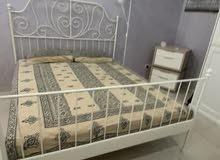 IKEA Leirvik Bed with Matress