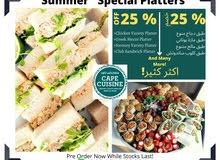 Food & Dessert Platters