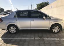Silver Nissan Tiida 2007 for sale