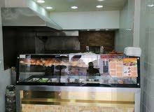 مطعم شعبي مرخص ومجهز مشاوي وسناكات ومعجنات للضمان