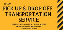 Pick up and drop off chauffeur services