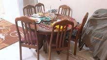 طاولة سفرة وكراسي