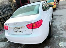 White Hyundai Elantra 2011 for sale