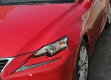 Lexus IS 2016 For sale - Red color