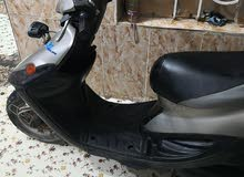 Used Yamaha motorbike made in 2017 for sale
