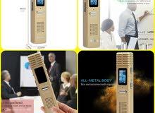 احدث جهاز تسجيل الصوت يصل لغاية 550 ساعة حديث وشاشة ديجتال