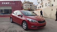 Red Kia Cerato 2014 for sale