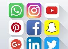 بحث عمل عن اداره مواقع التواصل الاجتماعي