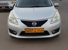 Silver Nissan Tiida 2014 for sale