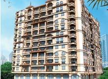 شقة للبيع نصف تشطيب عمارة مباني 2010 مساحة 160 متر بمصر الجديدة
