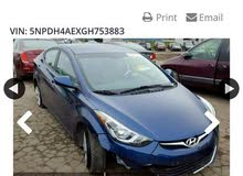 Used condition Hyundai Elantra 2016 with 1 - 9,999 km mileage