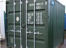 حاويات شحن فارغة مستعملة للبيع في دبي