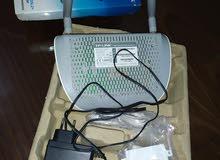 راوتر TP- link W8961ND..  بحالة جيدة جدا يتميز باسرعات الكبيرة