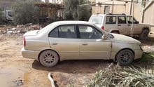 Automatic Gold Hyundai 2002 for sale