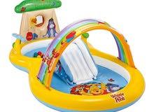 winnie  the pooh play pool