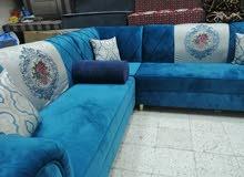 Sale l shap sofa with discount haraj bin qasim shop no 908