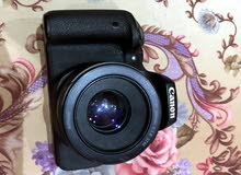 (كاميرا 750Dمع عدسه 75-300) نظيفة جدااا سبب البيع (التغيير)