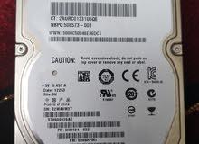 هاردسك  HP  500  GB لا بتوب