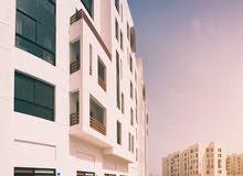 Qurm neighborhood Muttrah city - 56 sqm apartment for rent