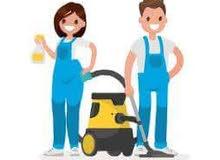 مكتب خادمات لتنظيف المنازل ومكاتب يومي شهري