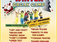 Kids Winter Break Camp
