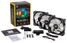 Corsair ML120 PRO 120mm Premium Magnetic  RGB LED PWM Fan