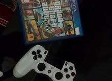 دسكة GTA V PS4 للبيع
