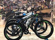 sport bike قواري المنيوم اصليه احجام /26