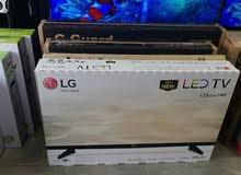 شاشات LG حجم 49 بوصة مع رسيفر داخلي فقط (270) دينار وكفالة لمدة سنة