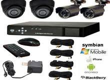 اغتنم الفرصة الآن لتركيب نظام كاميرات مراقبة بأفضل عرض  عدد 4 كاميرات مراقبة