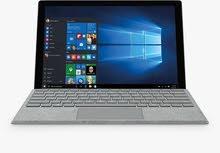للبيع Surface pro 6 فضي جديد بالكرتون