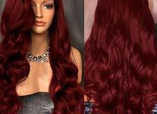 باروكة شعر الياف