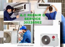 a.c repair split a.c repair gass filing fixing service all everything call me