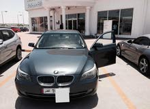 BMW 523i 2008 with low kilometers