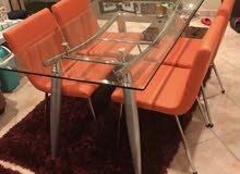 سفرة 4 كراسي - 4 chairs dinning table