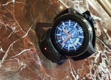 Samsung galaxy watch 46mm ساعه سامسونج سمارت فضى
