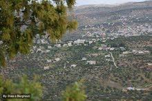 نمرة أرض طابو للبيع في كفرعين مرتفعة تقع على 3 شوارع