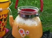 متوفر ابريق الشاي الزجاجي 1400 مل